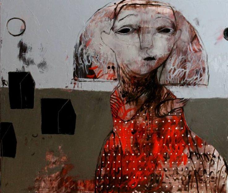"Saatchi Art Artist Rusudan Khizanishvili; Painting, ""Pearl"" #art"