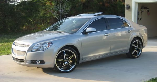 CHEVY MALIBU RIMS | Pics of my '08 LTZ with new 20's. | I love my toys | Pinterest | Cars, Chevy and Dream cars