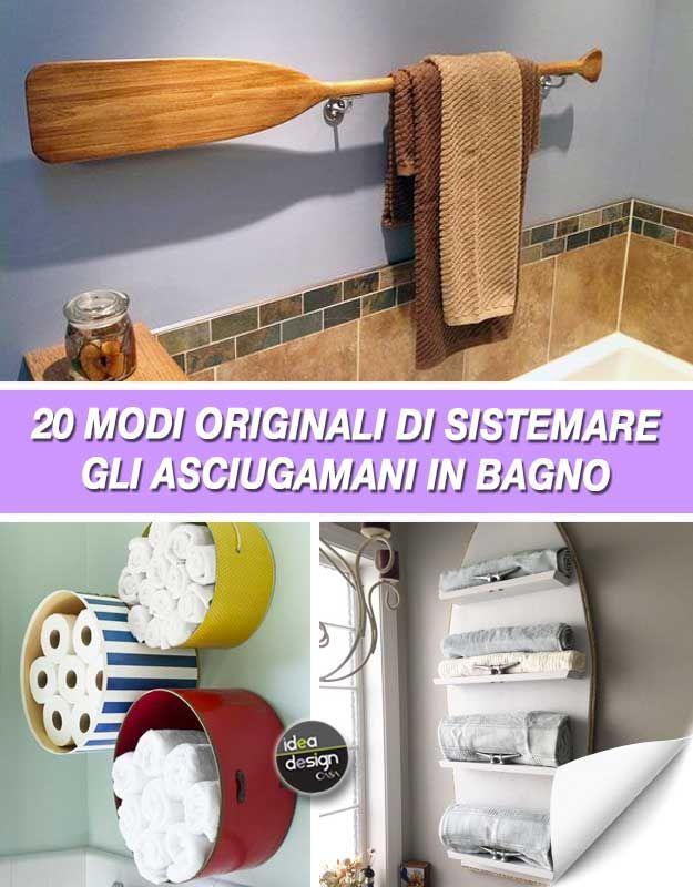 Proprio come per gli interni di una casa, assicurati di mescolare le texture quando decori una mensola. Come Sistemare Gli Asciugamani In Bagno 20 Idee Originali Per Ispirarvi Idee Per Il Bagno Arredamento Bagno Fai Da Te Decorare Bagno Piccolo