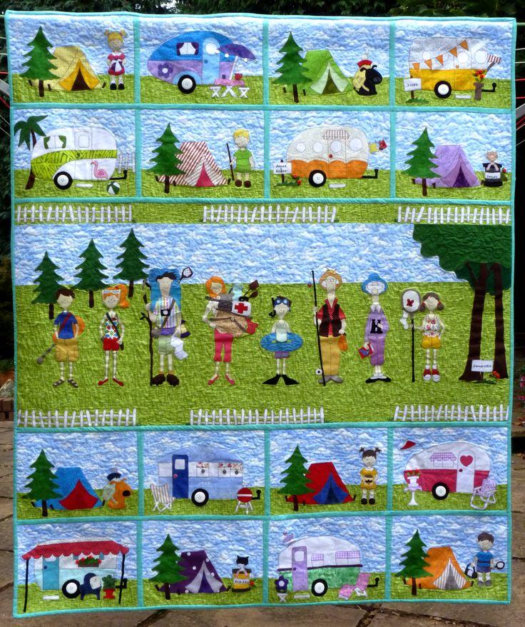 Amy Bradley Designs Campers Pattern