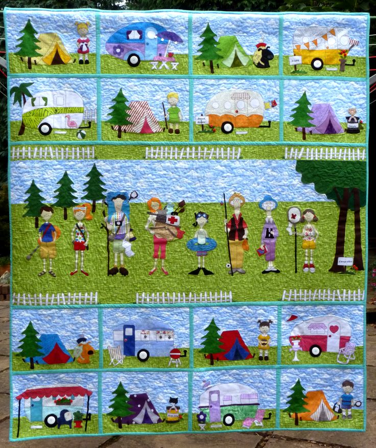 Amy Bradley Designs Campers Pattern Quilting Pinterest