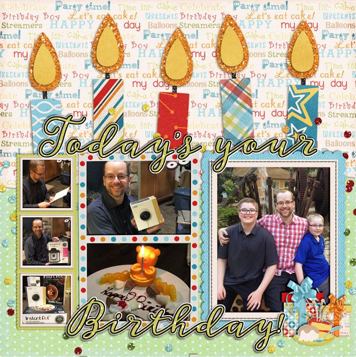 Credits: Ljs Designs: 2 Sides to Every Story: Birthday Temps Kit: Jady Day Studios: A boy's Perfect Birthday (retired)