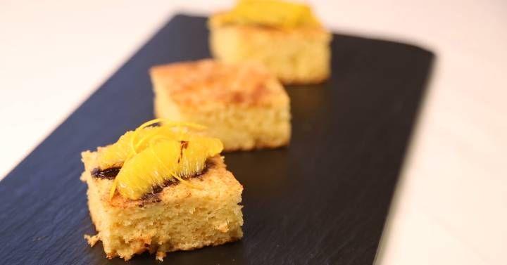 Tres chefs de Valencia nos enseñan  jetapostres  gourmet con la fruta estrella de la zona. Disfruta con la coca de llanda de Casa Carmina, el sandwich de fartones de Dos Estaciones y la muselina con yogur de Sucede.