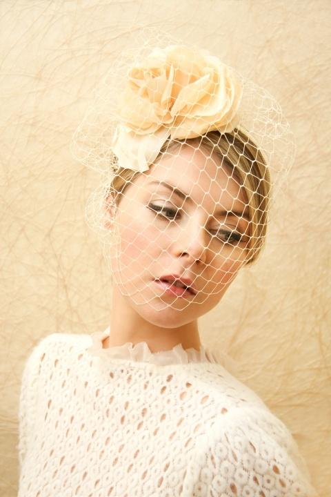 Blusher veil.  #TheLANEWeddings