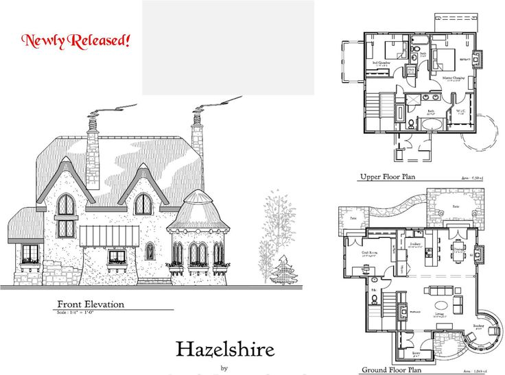 1000 images about exteriors floor plans on pinterest for Storybook craftsman house plans