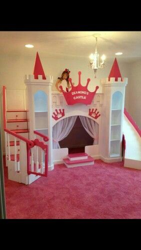 Castel Bed Kids Beds Playhouse Bed Princess Castle
