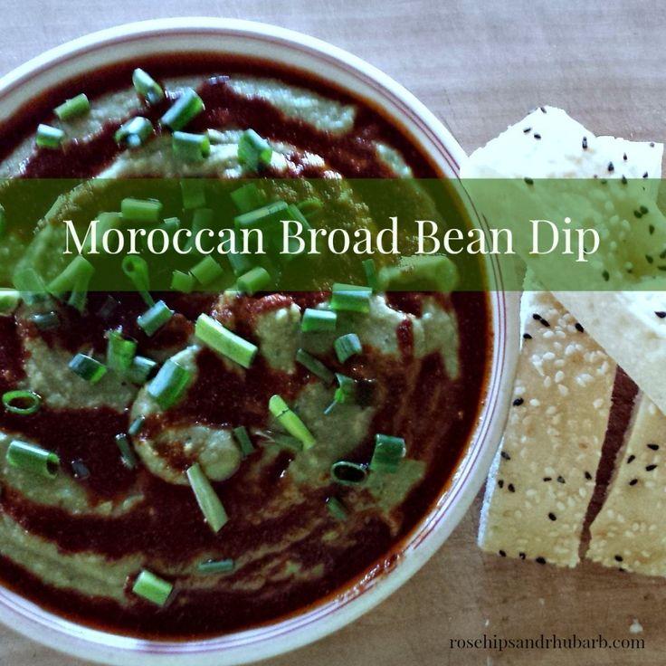 Byessar - Moroccan Broad Bean Dip - Rosehips and Rhubarb