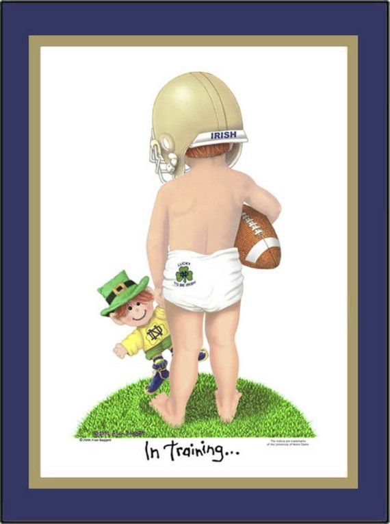 This is lil' Patrick. ND's future is bright.