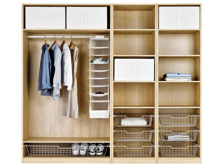 Wonderful IKEA Pax Closet System -another config