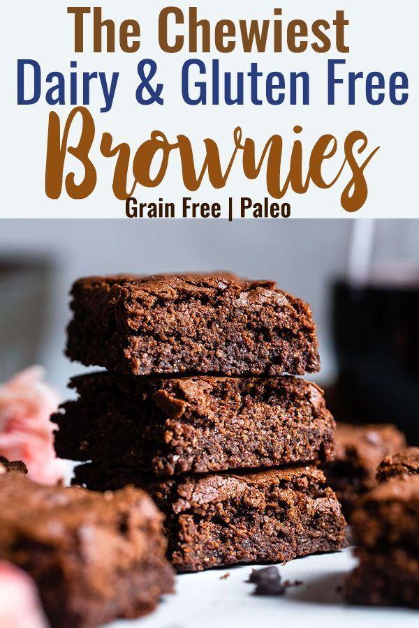 Easy Gluten Free Dairy Free Brownies These Grain Free Healthy