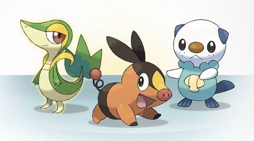 Image de la news Pokémon Noir et Blanc dévoile ses pokémons starters