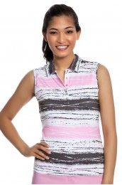 Nivo Blush Golf Sleeveless Shirt - NI5210171