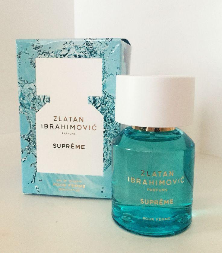 Zlatan Ibrahimovic parfums -Supreme eau de toilette pour femme