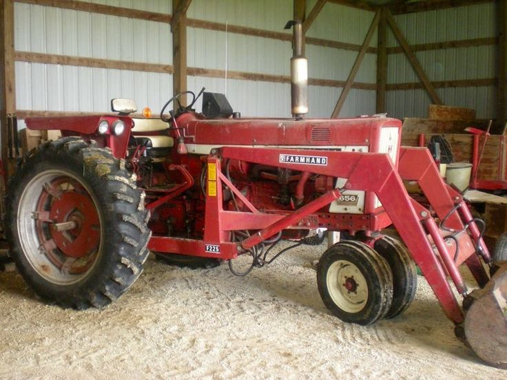 International 656 Tractor With Loader : The best images about farmall on pinterest john