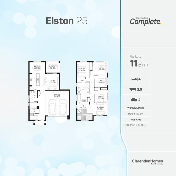 42 best Favourite Floorplans images on Pinterest   Clarendon homes ...
