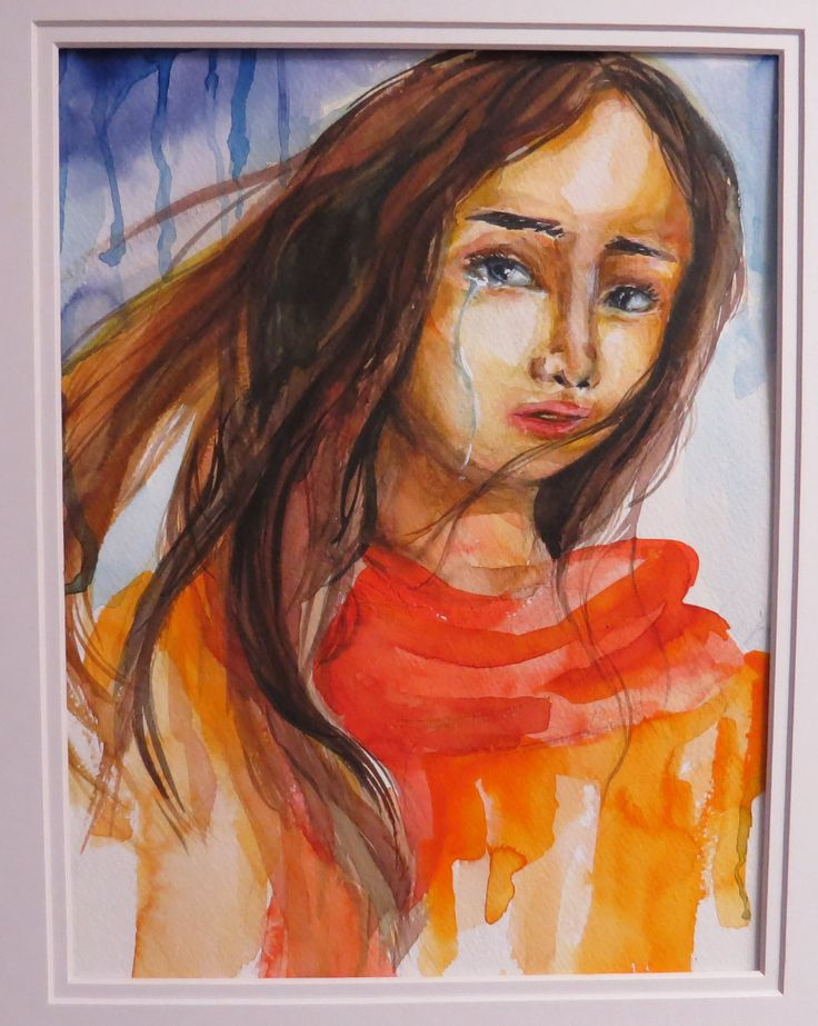 Watercolour portraits.  An example of the AP artwork that often graces the walls of Pacific Christian School.