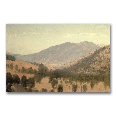 "Trademark Art ""Bergen Park, Colorado"" by John Kensett Painting Print on Canvas Size:"