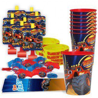 Blaze Party Supplies, Blaze Table Favor Sets