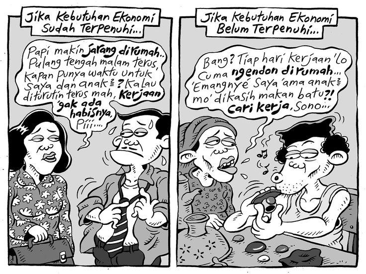 Mice Cartoon, Kompas 07 Mei 2015: Kebutuhan Ekonomi