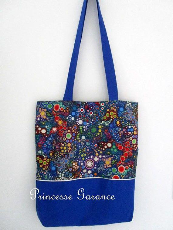 Tote bag / sac shopping pliable