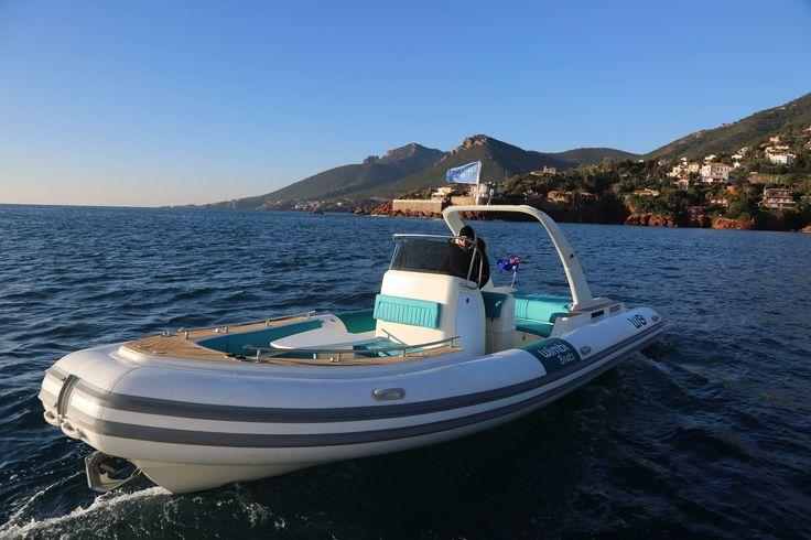 Wimbi Boats Pneumatique Bateau Yacht Semi-rigide Ocean W9i navigation Mer Pirelli