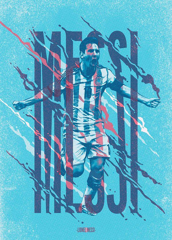 Ases de América Book - Lionel Messi on Behance
