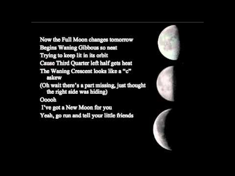 Moon Phases Song - YouTube