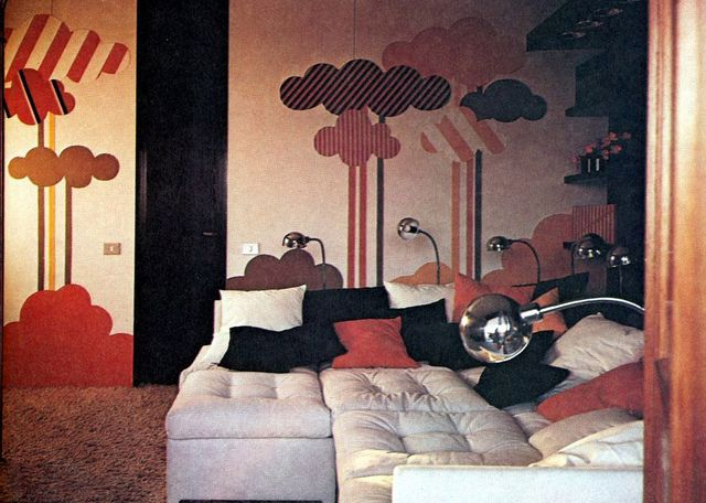 1976 NORMA SKURKA NEW YORK TIMES BOOK ON INTERIOR DESIGN By Retro Space