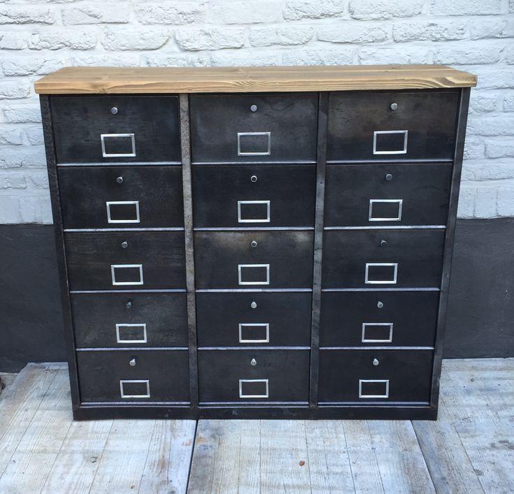 25 parasta ideaa pinterestiss meuble massif meuble for L or du temps meuble industriel