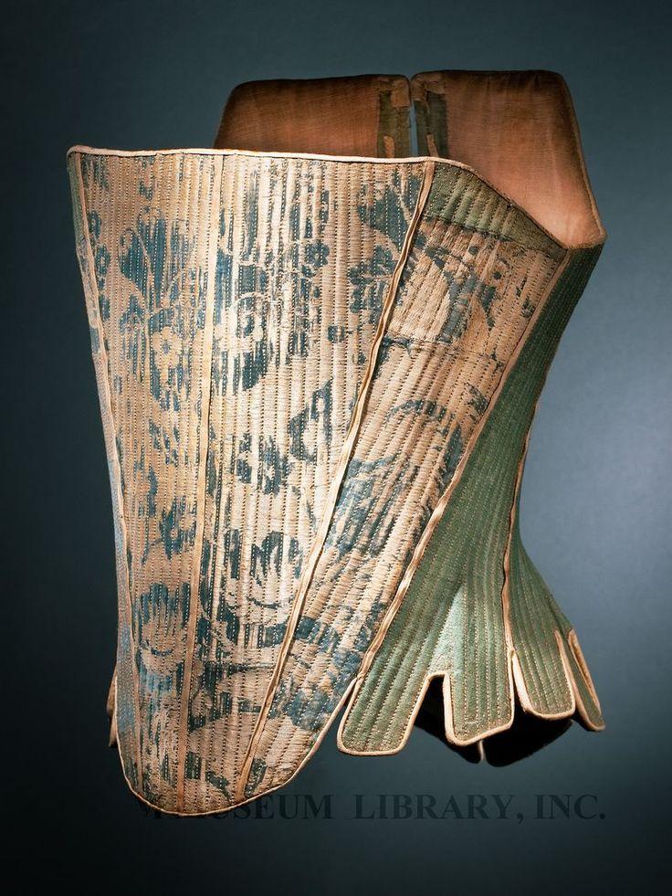 Corset Europe, c. 1765 Helen Larson Historic Fashion Collection Proposed FIDM Museum Acquisition L2011.13.79