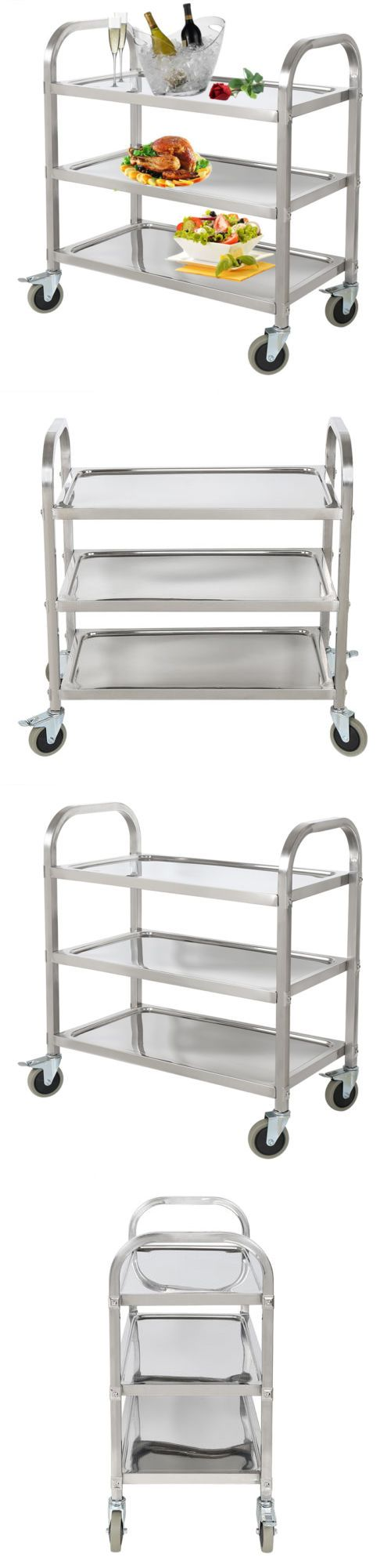 the 25 best kitchen utility cart ideas on pinterest utility kitchen islands kitchen carts 115753 commercial 3 shelf stainless steel restaurant utility cart kitchen