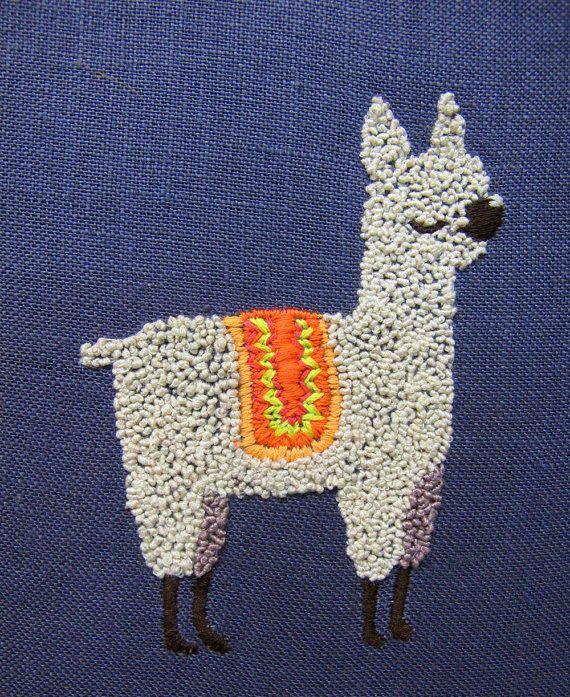 Alpaca embroidery.