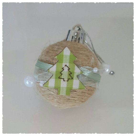 Check out this item in my Etsy shop https://www.etsy.com/au/listing/255295284/mini-bauble-jute-twine-and-ribbon-with