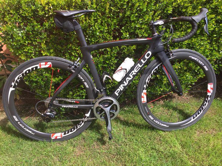 Pinarello dogma F8 / Vision Wheels... Hard training ! No pain No gain