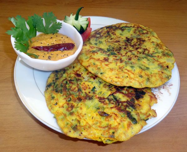 Spicy and healthy South Indian breakfast dish.