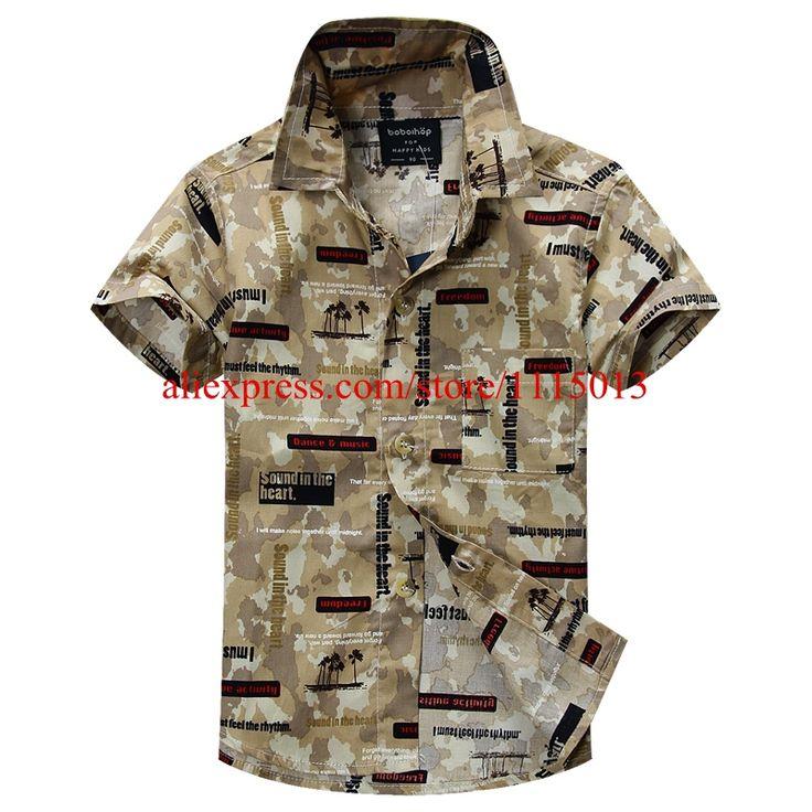 Новое поступление цветочный рубашка гавайская рубашка гавайская рубашка для детей 1605