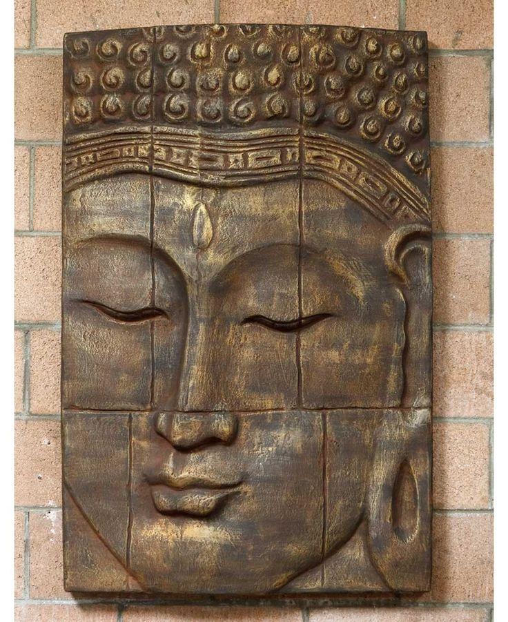 Large Buddha Wall Panel