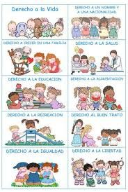 Resultado de imagen de los derechos de los niños para colorear