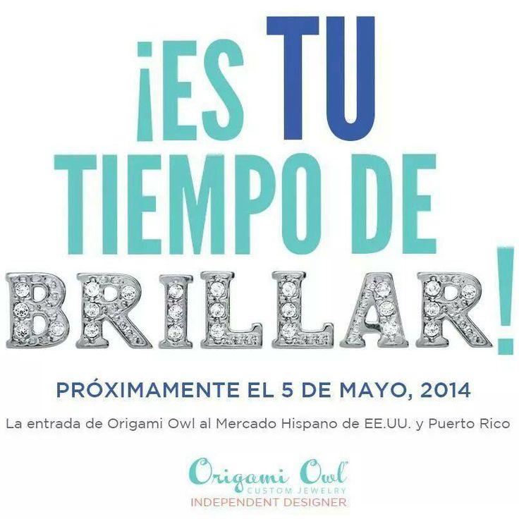Estoy feliz de poder anunciar la entrada de Origami Owl al Mercado Hispano de EE.UU, incluyendo venta directamente en Puerto Rico. BRILLA conmigo, sea parte de mi equipo.  www.devinelockets.origamiowl.com #puertorico #mercadohispano #felicidad #oportnidad #joyeria