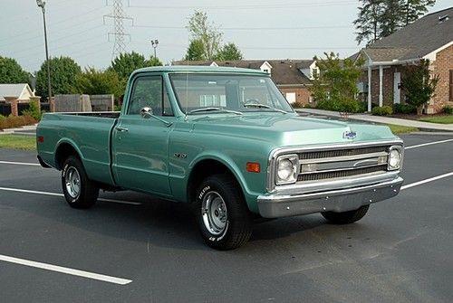 1969 chevy c10 | 1969 Chevrolet C10 Shortbed Chevy Very Nice Fleetside SWB 2WD Truck EX ...