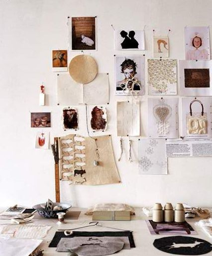 Workspace Crush - Tiny Pins and Tiny Images To Inspire You all Day Long