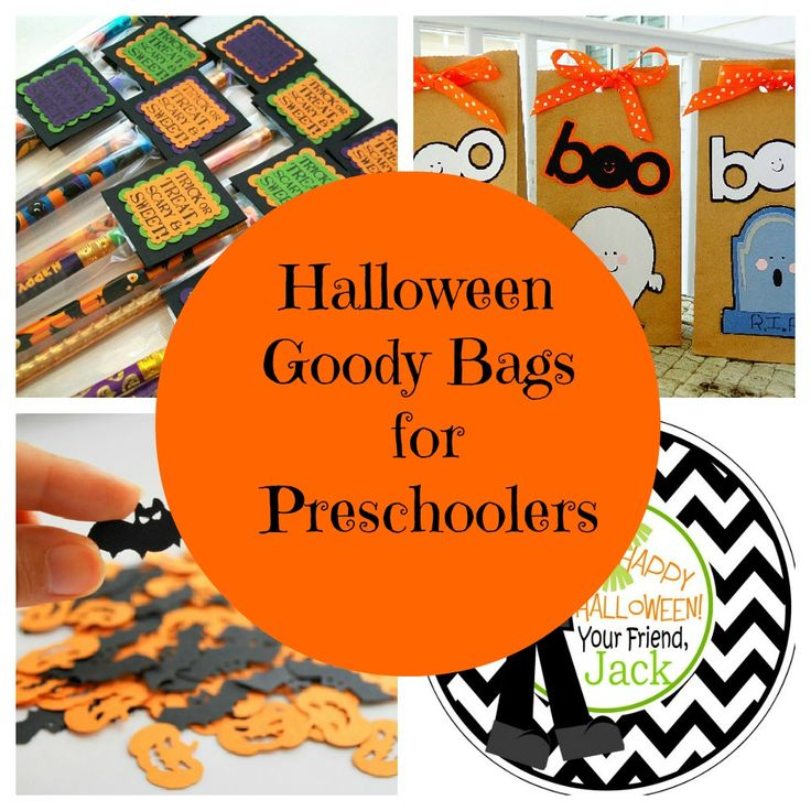 Halloween goody bags!  I make goodie bags every year for my kids classmates! This comes in handy!