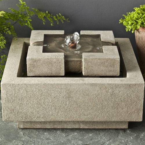 25 Best Ideas About Concrete Fountains On Pinterest