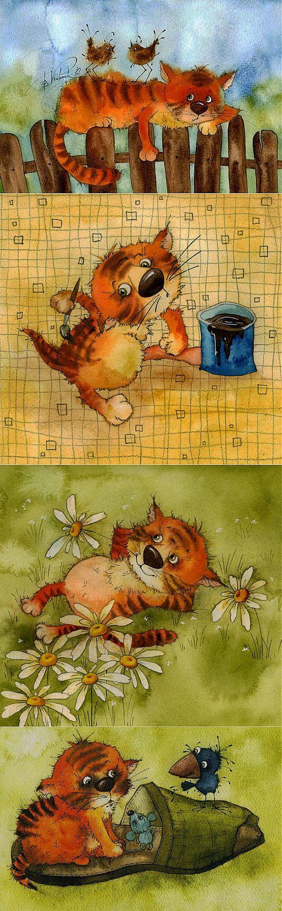 (+1) тема - Виктория Кирдий - художница родом из Иркутска   Искусство   Живопись и не только   Постила