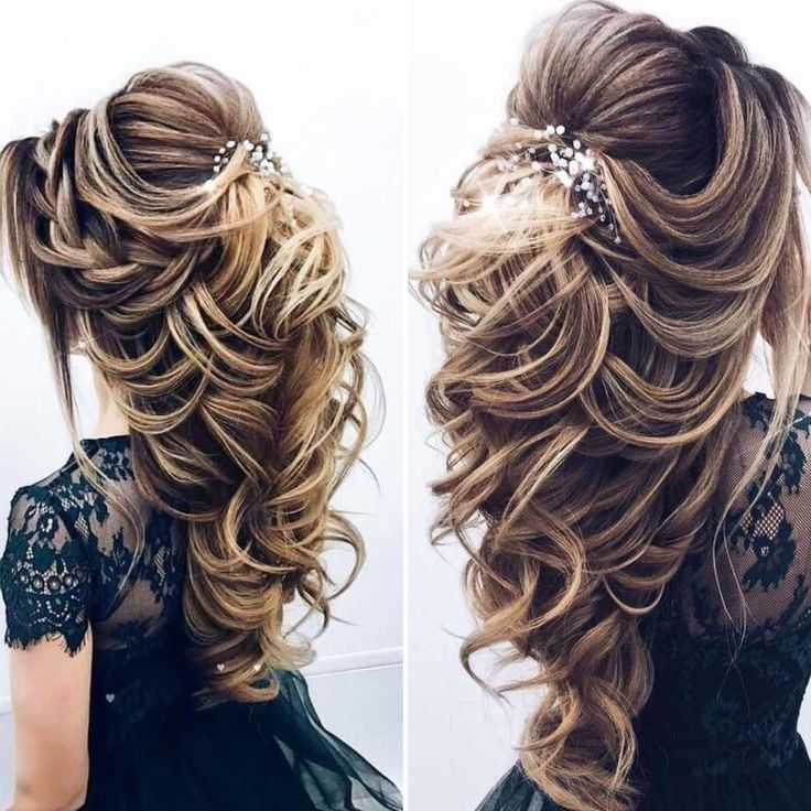 Beautiful bride hairstyle..😍 To add the fullness to this hairstyle  use our E…