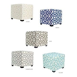 Shop for MJL Furniture Sheffield 4 Button Tufted Square Ottoman. Get free shipping at Overstock.com - Your Online Furniture Outlet Store! Get 5% in rewards with Club O! - 17468671