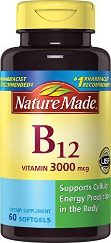 "Essential for energy production and a healthy nervous system – Vitamin B-12 is important for the metabolic pathways which work to release energy from fats and carbohydrates   	 		 			 				 					Famous Words of Inspiration...""Ordinary life is pretty complex... more details at http://supplements.occupationalhealthandsafetyprofessionals.com/vitamins/vitamin-b/vitamin-b12/product-review-for-nature-made-vitamin-b-12-softgels-3000-mcg-60-count/"