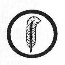 Thought I would share this.  C.Spence... Plant's symbol (circle around a feather) features the feather of Ma'at, the Egyptian goddess of justice and fairness. It is also the emblem of a writer. Plant says the symbol he created was drawn from sacred symbols of the ancient Mu civilization, a fantastical place that supposedly existed until 14,000 years ago.