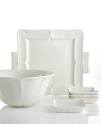 Mikasa Dinnerware, French Countryside New Collection - White Dinnerware - Dining & Entertaining - Macy's