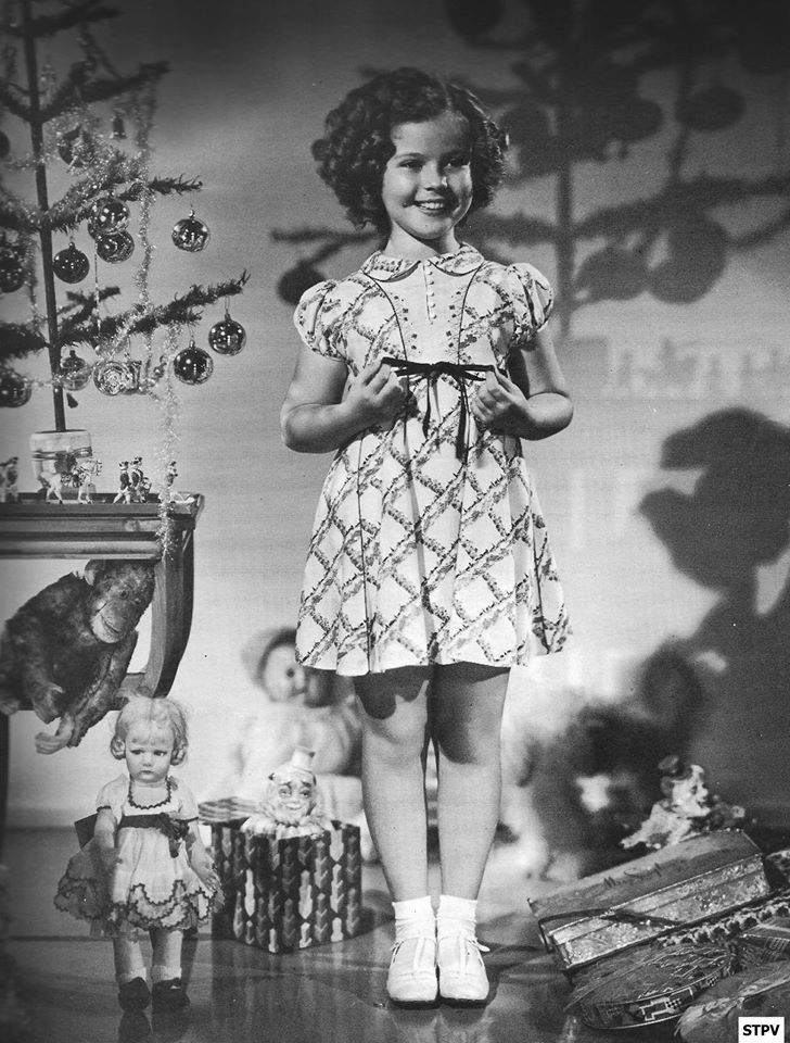 Image result for shirley temple christmas